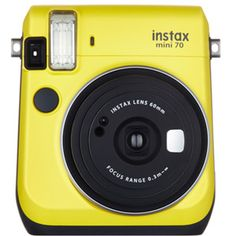 New Fujifilm Instax Mini 70 Instant Film Polaroid Photo Camera Picture (White) UPC - 074101199062 Fuji Instax Mini, Fujifilm Instax Mini, Nikon D5100, Selfie, Instant Film Camera, Landscape Mode, Film Photography, Yellow Photography, Shopping