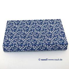 Fotobox / Foto- Schachtel blau weiße Ranken, DIN A5 Schachtel von Nauli