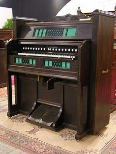 Mannborg - single manual reed organ from 1925. Flickr - Photo Sharing!