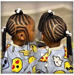 Toddler Braided Hairstyles, Little Girl Braid Hairstyles, Toddler Braids, Natural Hairstyles For Kids, Baby Girl Hairstyles, African American Kids Hairstyles, Kids Cornrow Hairstyles, Little Girl Braid Styles, Toddler Hairstyles