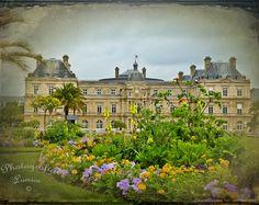 "Paris, Luxembourg Gardens - Castle - 8"" x 10"" Print - Travel Photography - Fine Art Photography. $25.00, via Etsy."