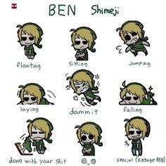 BEN DROWNED shimeji