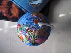 Глобус из бисера