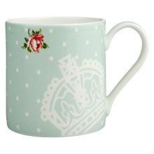 Buy Royal Albert Polka Rose Mug Online at johnlewis.com 8