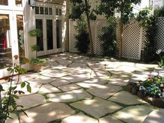 Flagstone Patio Design, Pictures, Remodel, Decor and Ideas - page 2