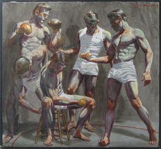 Bruce Sargeant - Five Gymnasts