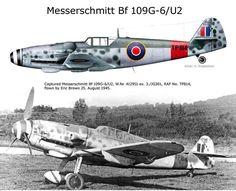 """Messerschmitt Bf 109G-6 W.Nr 412951 """"Rafwaffe""""1945"""