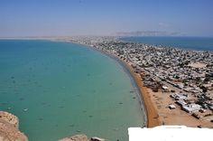 Gwadar port is the largest deep sea port in the world, located on the southwestern Arabian Sea along the coast line of Balochistan, Pakistan.