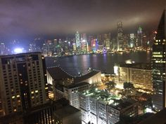 Harbour view in Hong Kong