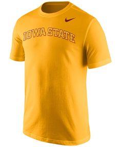 10f1f0ac1 Nike Men s Iowa State Cyclones Wordmark T-Shirt Men - Sports Fan Shop By  Lids - Macy s