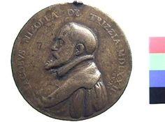Medaglia in bronzo di Antonio Abondio per Jacopo Nizzola da Trezzo | Collezioni online | Museo Civico Archeologico di Bologna | Iperbole
