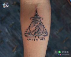 Small and Creative Tattoos. # adventure #travel#inklover #creativetattoo #safe #teamaaryans #aaryan #ahmedabad #gujarat #india Call/Whatsapp: Bodakdev: 9099801171 Chandkheda: 7878601172 Creative Tattoos, Ahmedabad, Deathly Hallows Tattoo, Adventure Travel, Triangle, India, Rajasthan India, Indie, Indian