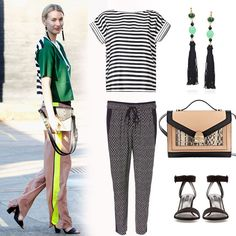 Mix Prints (and Wear Your Pajama Bottoms) Like This Street-Style Pro Pajama Bottoms, Pajama Pants, Sydney Fashion Week, Printed Trousers, Mixing Prints, Street Style Looks, Autumn Winter Fashion, Winter Style, Her Style