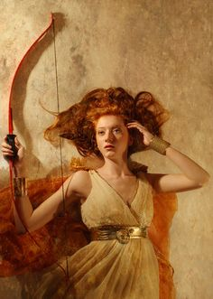 Artemis the Huntress by ThomasDodd.deviantart.com on @deviantART