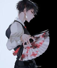 Anime Boys, Anime W, Dark Anime Guys, Cool Anime Guys, Hot Anime Boy, Handsome Anime Guys, Dark Anime Art, Anime To Draw, Anime Boy Drawing
