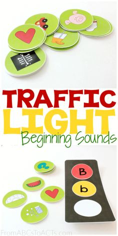 Planning a transportation theme for your upcoming kindergarten year? This simple traffic light matching activity is such a fun way to expand on your early literacy practice to work on letter recognition, beginning sounds, and more!