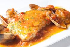 Fish Recipes, Mexican Food Recipes, Ethnic Recipes, Spanish Food, Seafood, Curry, Food And Drink, Yummy Food, Favorite Recipes
