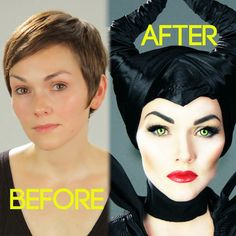 Now I am not Angelina Jolie, but I did my best to show you how to look like Angelina Jolie as Disney's Maleficent. So here's how to do i...