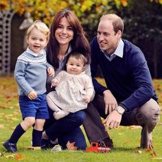 Prince William and Kate Middleton released their Christmas card photo with a sweet message