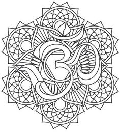 Deep breathing coloring pages ~ Three candles glow inside a gothic copper lantern, framed ...