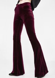 19a48635 Blank NYC Velvet Flare Pants | Dolls Kill Velvet Flare Pants, Bell Bottom  Jeans,