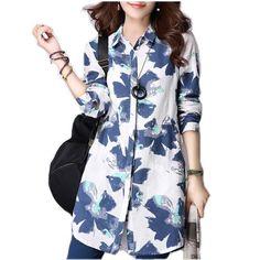 c6e7ecafb1c83 Tropical Love Top. Cotton StyleCotton LinenPrinted CottonPlus Size Women's  TopsPlus Size BlousesFloral Print ShirtFloral ...