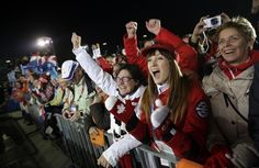 10 Ways Canada Has Already Won The Winter Olympics - Canadian freestyle skiers and sisters Chloe Dufour-Lapointe won silver and Justine Dufour-Lapointe won gold. Even though their eldest sister, Maxime finished 12th, she continued to cheer her siblings on from the crowd.