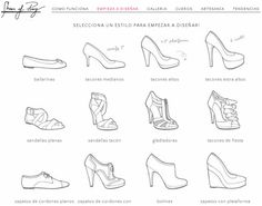 Design custom made shoes Drawing Tips, Drawing Reference, Drawing Sketches, Drawings, Basic Drawing, Sketching, Shoe Sketches, Fashion Sketches, Drawing Fashion