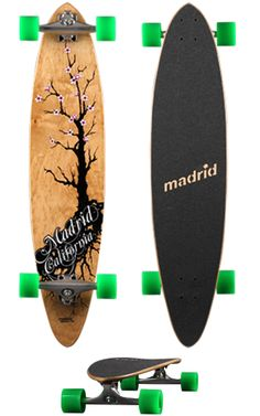 Madrid Cherries Pintail Classic - Longboard