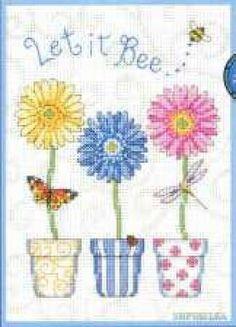 Let it bee cross stitch