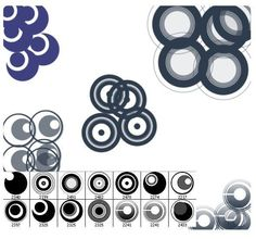 Circle Shapes 001 Hig Res Brushes) by curtismchale This is a set of 14 high resolution circle brushes. all brushes are over in size and suitable for both print and web projec Photoshop Tips, Photoshop Brushes, Circle Shape, Diy Cards, Icon Design, Photo Editing, Bubbles, Graphic Design, Shapes