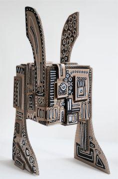 Fabric Lenny RABBBOTS