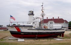 CG44301, a 44 ft. coast guard lifeboat, was first stationed at Chatham from 1963 - 1971, was again at Chatham from 2002 until it was decommissioned in 2009. In 2015 the boat is once again stationed at Chatham, this time on permanent display at Coast Guard Station Chatham. http://www.uscg.mil/d1/stachatham/Boats.asp