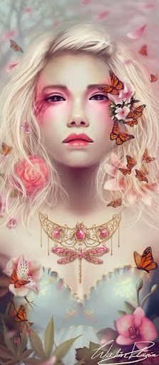 "On l'appelle ""Butterfly Girl""."