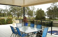 Beautiful patio in Hunter Valley! I love patios because they provide an open, covered space to sit outside.