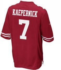 Colin Kaepernick San Francisco 49ers NFL Jersey - Red -  48.98 San  Francisco 49ers Game af1f43462