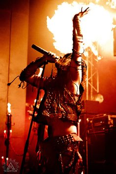 "Erik Danielsson, Watain. ""Come on, you sons of fire!"""