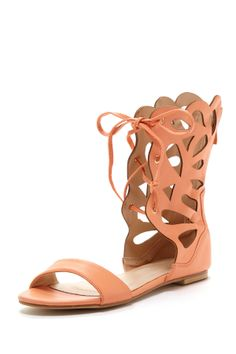 Cut out gladiator sandals
