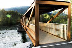 Gallery of Tintra Footbridge / Rintala Eggertsson Architects - 6