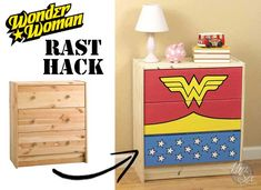 Wonder Woman Dresser: A Rast Hack