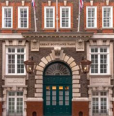 Hyatt Hotels Corporation announced today the opening of the Great Scotland Yard Hotel in London as part of The Unbound Collection by Hyatt. Luxury Portfolio, Royal Residence, Unique Hotels, New Property, London Hotels, Historical Architecture, New Market, Hotels And Resorts, Townhouse