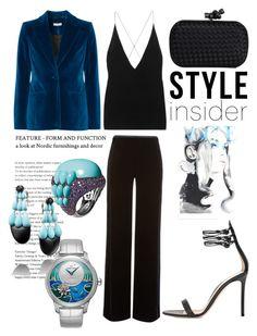 """""""fashion"""" by avestaisikli on Polyvore featuring moda, Altuzarra, Dion Lee, Armani Collezioni, Gianvito Rossi, de Grisogono ve Bottega Veneta"""