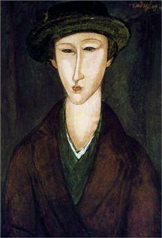 Portrait of Marevna, 1919 - Amedeo Modigliani