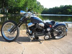 Mickey Esters Bobber Bike by Brass Balls Bobbers | by Brass Balls Cycles