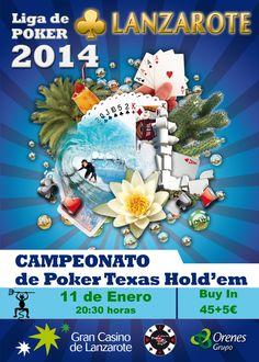 Campeonato de Lanzarote Poker Texas Hold'em 2014