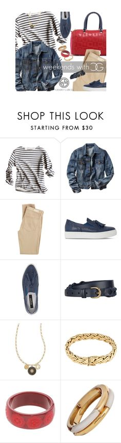 """""""go preppy"""" by norwich-ave ❤ liked on Polyvore featuring Gap, Garcia, Castañer, Dune Black, John Lewis, Tory Burch and Tiffany & Co."""