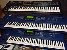 Yamaha EX5 Workstations & DX7
