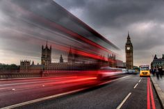 Long Exposure Photography. Houses of Parliament, London. More photographs by David Mar Quinto: http://500px.com/DMQ
