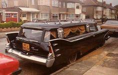 Plymouth Fury hearse via 1960