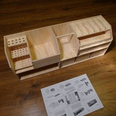 This is a commercial workbench organizer but it's a good guide for a diy one.